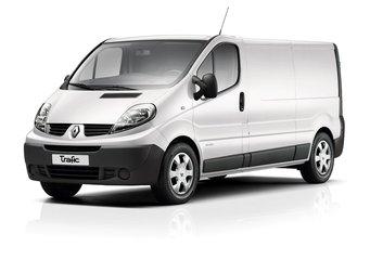 Renault Trafic van 2001 tot 2013 Dakrails