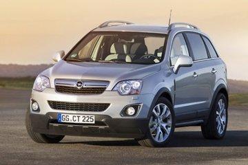 Opel Antara sidebars
