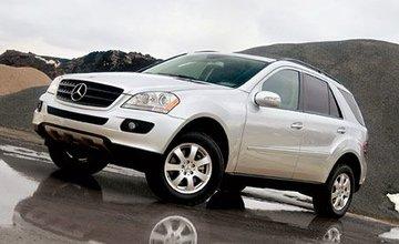 Mercedes Ml vanaf 2006 tot 2011 sidebars