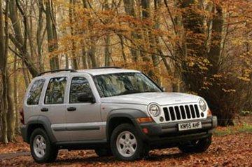Jeep Cherokee van 2001 tot 2005 sidebars