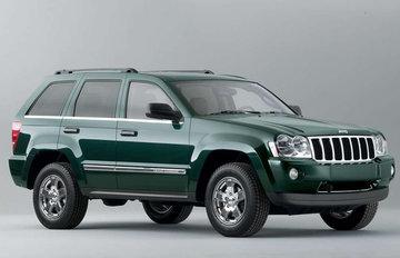 Jeep Grand Cherokee van 2005 tot 2010 sidebars