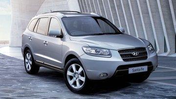 Hyundai Santa Fe van 2007 tot 2012 sidebars