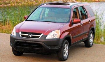 Honda CRV van 2001 tot 2006 sidebars
