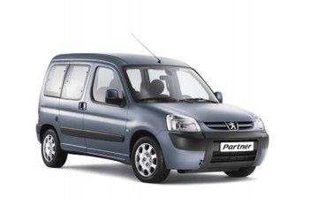 Peugeot Partner van 1997 tot 2007 Dakrails
