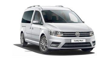 VW Caddy Maxi Dakrails