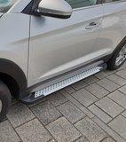 Volkswagen T5 / T5GP L2 treeplanken aluminium_