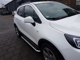 Opel Mokka X sidebars 60 mm met RVS trede_