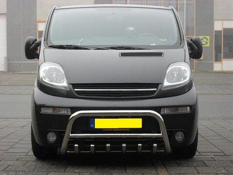 Opel Vivaro pushbar met carterbeschermer