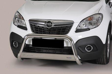 Opel Mokka pushbar skidplate met CE / EU certificaat 63 mm