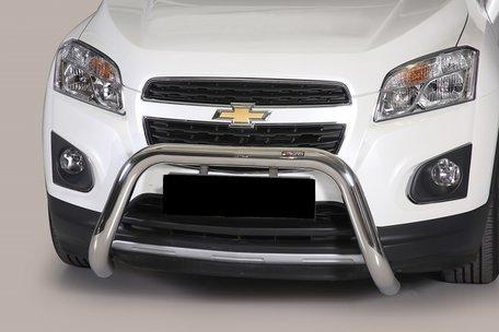 Chevrolet Trax pushbar 76 mm met CE / EU certificaat