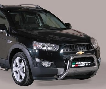 Chevrolet Captiva 2011+ pushbar 63 mm met CE / EU certificaat