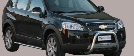 Chevrolet Captiva 2006+ pushbar 63 mm met CE / EU certificaat