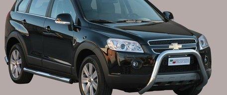 Chevrolet Captiva 2006+ pushbar 76 mm met CE / EU certificaat