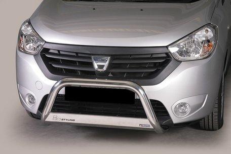 Dacia Dokker pushbar 63 mm met CE / EU certificaat