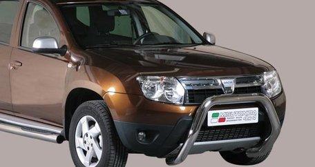 Dacia Duster pushbar 76 mm met CE / EU certificaat