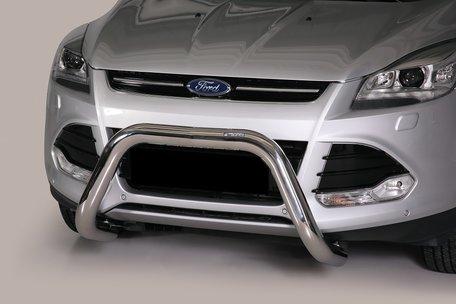 Ford Kuga 2013 tot 2016 pushbar 76 mm met CE / EU certificaat
