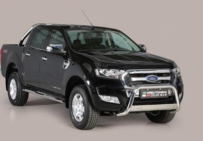 Ford Ranger 2016+ pushbar 63 mm met CE / EU certificaat