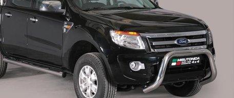 Ford Ranger 2010 tot 2015 pushbar 76 mm met CE / EU certificaat