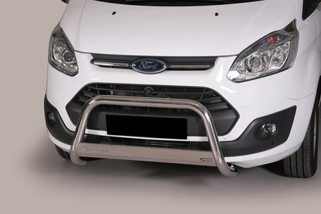 Ford Transit Custom pushbar 63 mm met CE / EU certificaat
