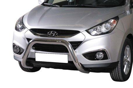 Hyundai IX 35 pushbar 76 mm met CE / EU certificaat