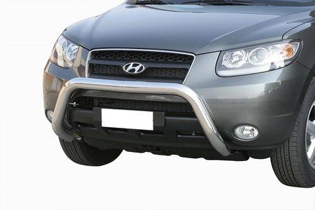Hyundai Santa Fe pushbar 76 mm met CE / EU certificaat