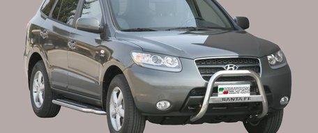 Hyundai Santa Fe pushbar 63 mm met CE / EU certificaat