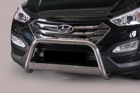 Hyundai Santa Fe 2012+ pushbar 63 mm met CE / EU certificaat