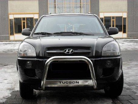 Hyundai Tucson pushbar 63 mm met CE / EU certificaat