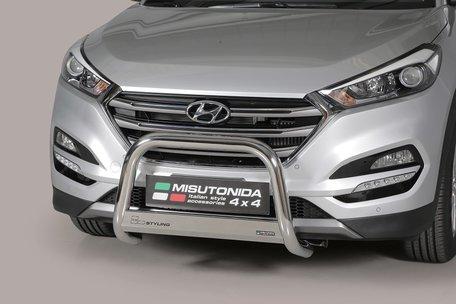 Hyundai Tucson 2015+ pushbar 63 mm met CE / EU certificaat