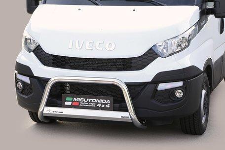 Iveco Daily 2014+ pushbar 63 mm met CE / EU certificaat