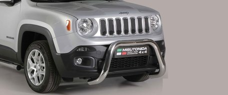 Jeep Renegade pushbar 76 mm met CE / EU certificaat
