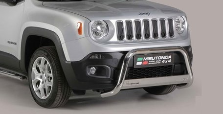 Jeep Renegade pushbar 63 mm met CE / EU certificaat