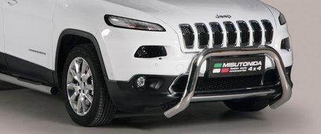 Jeep New Cherokee pushbar 76 mm met CE / EU certificaat