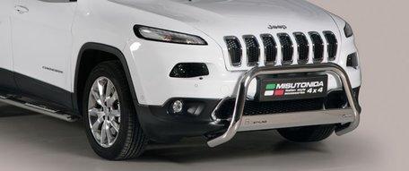 Jeep New Cherokee pushbar 63 mm met CE / EU certificaat