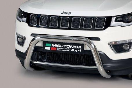 Jeep Compass 2017+ pushbar 76 mm met CE / EU certificaat