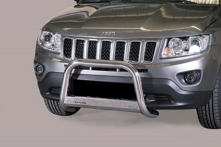 Jeep Compass 2011 tot 2017 pushbar 63 mm met CE / EU certificaat