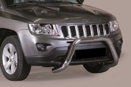 Jeep Compass 2011 tot 2017 pushbar 76 mm met CE / EU certificaat