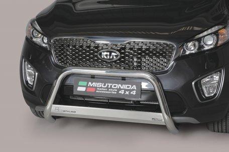 Kia Sorento 2015+ pushbar 63 mm met CE / EU certificaat