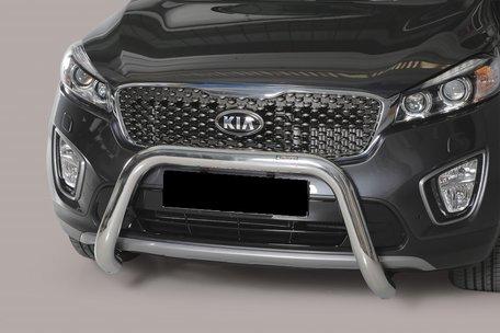 Kia Sorento 2015+ pushbar 76 mm met CE / EU certificaat