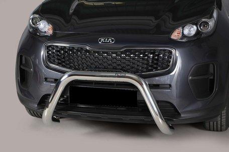 Kia Sportage 2015+ pushbar 76 mm met CE / EU certificaat