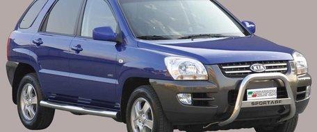 Kia Sportage tot 2009 pushbar 63 mm met CE / EU certificaat