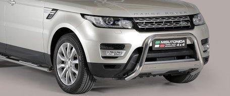 Land Rover Range Rover Sport 2014+ pushbar 63 mm met CE / EU certificaat
