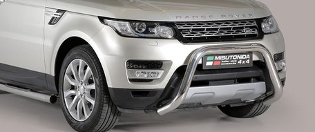 Land Rover Range Rover Sport 2014+ pushbar 76 mm met CE / EU certificaat