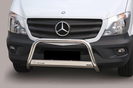 Mercedes Sprinter vanaf 2007 pushbar 63 mm met CE / EU certificaat
