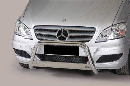 Mercedes Vito 2010 tot 2014 pushbar 63 mm met CE / EU certificaat