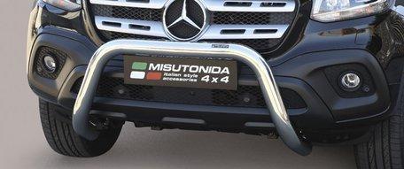 Mercedes X-Class pushbar 76 mm met CE / EU certificaat