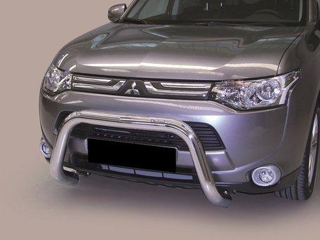 Mitsubishi Outlander 2013 tot 2014 pushbar 76 mm met CE / EU certificaat