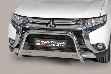 Mitsubishi Outlander 2015+ pushbar 63 mm met CE / EU certificaat