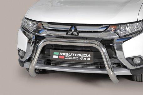Mitsubishi Outlander 2015+ pushbar 76 mm met CE / EU certificaat