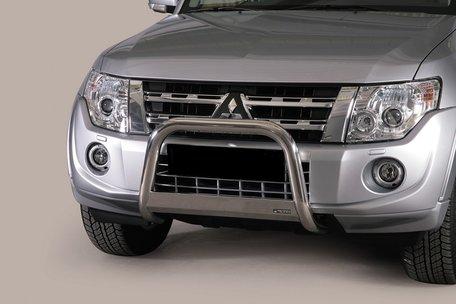 Mitsubishi Pajero 2012 tot 2014 pushbar 63 mm met CE / EU certificaat